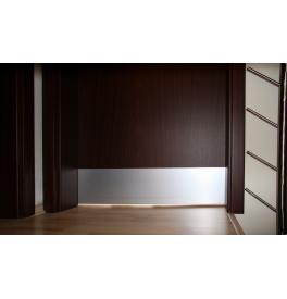 Okopové plechy - Balíčky (určené pre falcové dvere) - F1 - prírodný elox