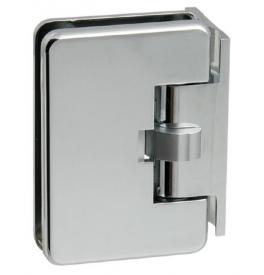 Automatický pružinový pánt na sklenené dvere CT - CER402S - OC - Chróm lesklý