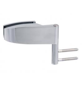 Horizontálny pánt na sklenené dvere CT - CER103C - OC - Chróm lesklý