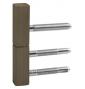 Krytka na pánt dverí TUPAI 0251 - R351 - OGS - Bronz česaný mat