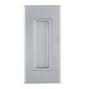 Mušla na posuvné dvere TUPAI 2650 - CP - Chróm perla