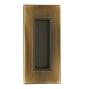Mušla na posuvné dvere TUPAI 2650 - OGS - Bronz česaný mat