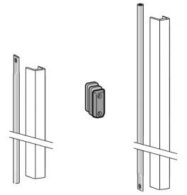 DORMA PHX 05 F - Set závory s krytom pre krídlo dverí s výškou 3400 mm