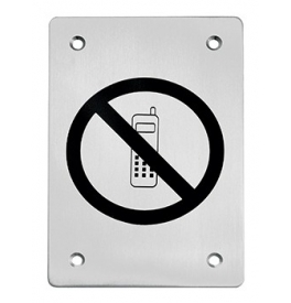 Piktogram TUPAI - zákaz telefonovania