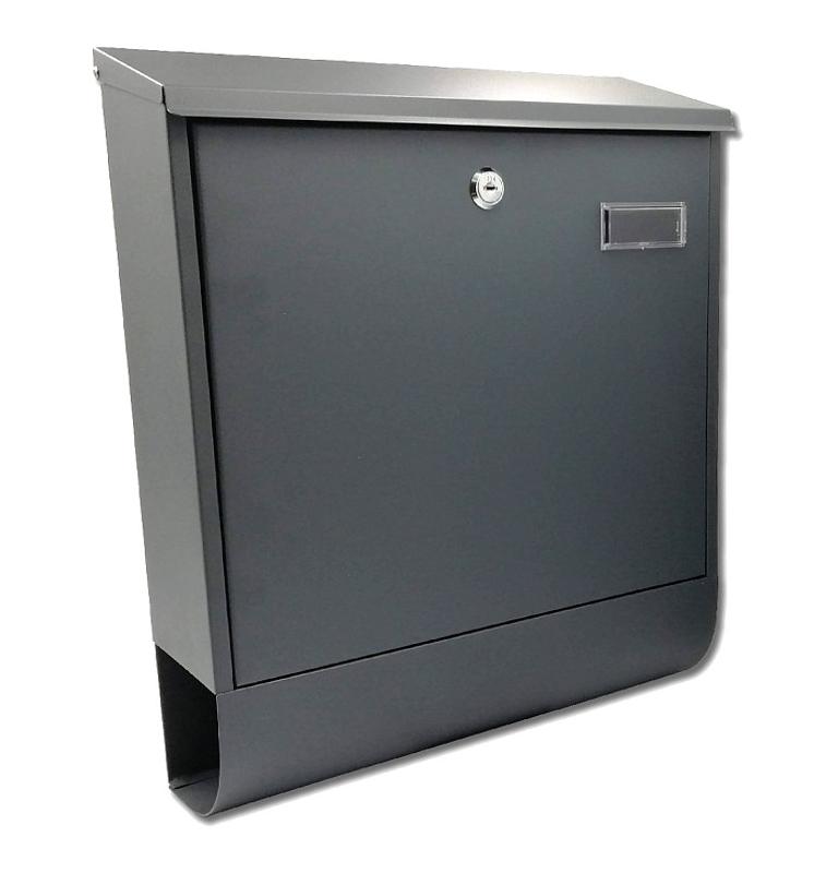 Poštová schránka X-FEST RUBEN - Čierna
