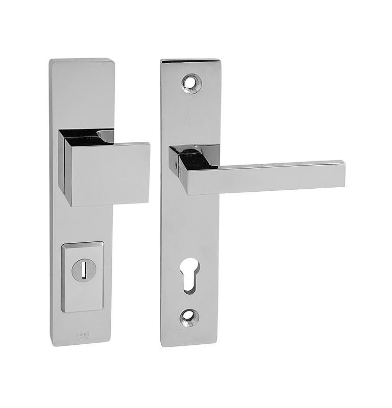 Bezpečnostná kľučka TUPAI FORTE 3214 - OC - Chróm lesklý