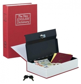 Tajná schránka - trezor kniha