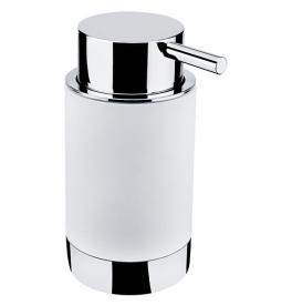 Dávkovač tekutého mydla NIMCO LIO - Chróm lesklý / biely