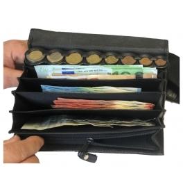 Kožená euro barmanská peňaženka