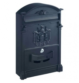 Poštová schránka ROTTNER ASHFORD - Čierna