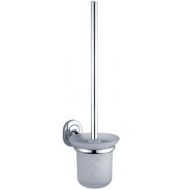 Toaletná kefa v malej sklenenej nádobe NIMCO Lotus