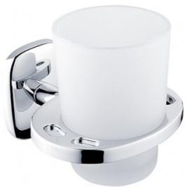 Sklenený pohár s držiakom na zubné kefky NIMCO Simona